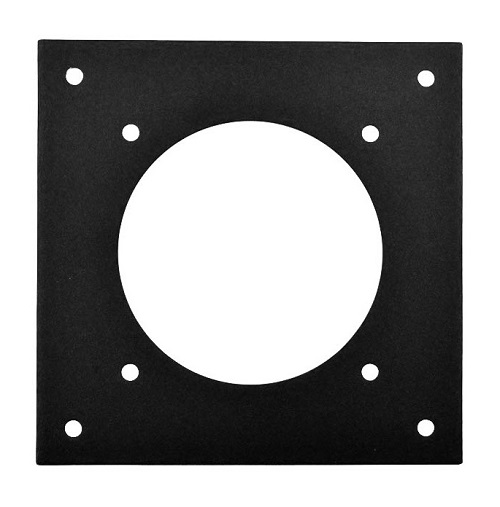 single fan mounting plate