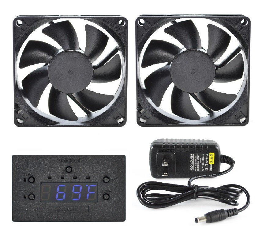 Fan Monitoring System : Procool rackmount and cabinet cooling fans