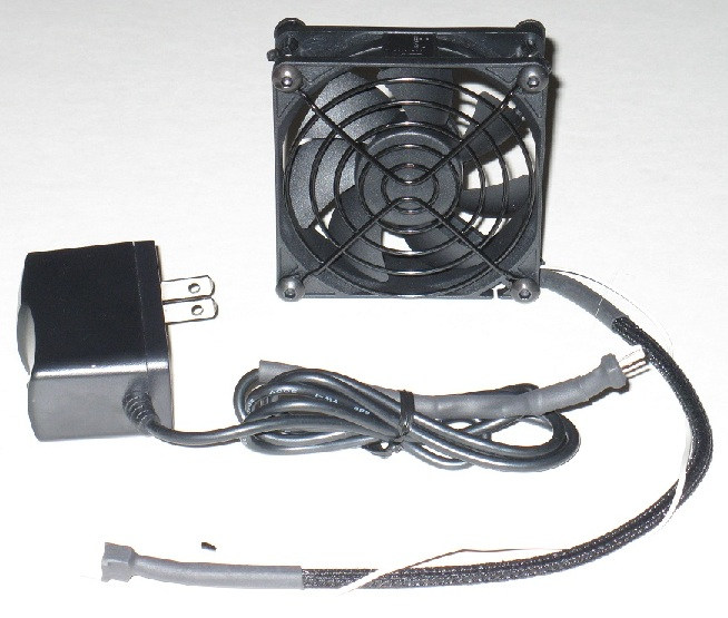 Fan Monitoring System : Av cabinet cooling fan system speed controlled ebay